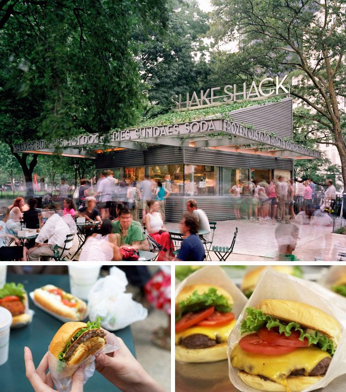 No trip to Madison Square Park is complete without a visit to Shake Shack: http://www.gokamino.com/hike/11