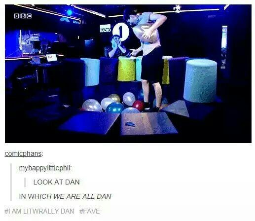 Just don't ship Phan but LOOK AT DAN.