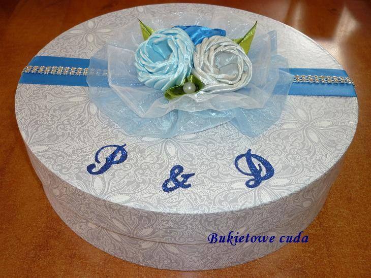 Pudełko na prezent ślubny