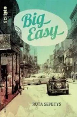 Big easy par Ruta Sepetys  Condition féminine- Lutte sociale- Nouvelle Orléans 1950- Bonheur- Amitié- Héritage- Relation mère fille   http://cdilumiere.over-blog.com/2013/10/big-easy-ruta-sepetys-gallimard-scripto-octobre-2013-446-pages.html