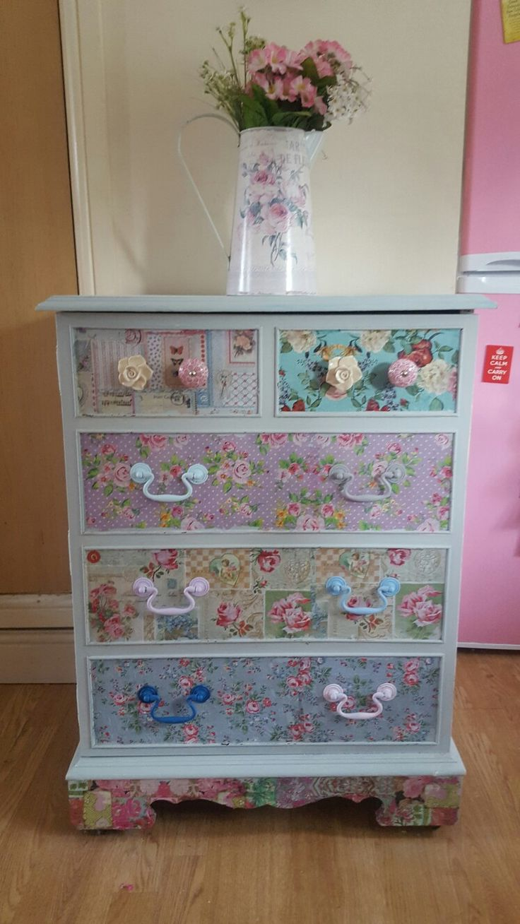 Pin By Jenny On Creative In 2019 Decoupage Furniture