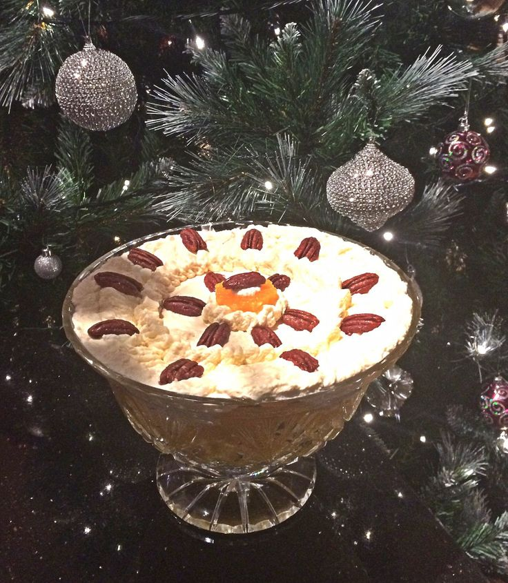 Boozy Citrus Trifle