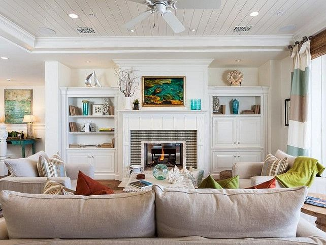 17 Best Ideas About Coastal Family Rooms On Pinterest