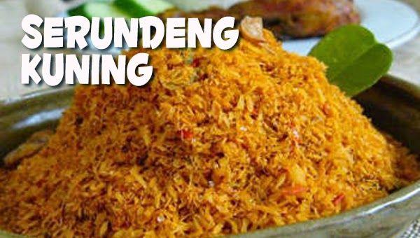 Masakan Praktis Rumahan: Resep Serundeng Kuning