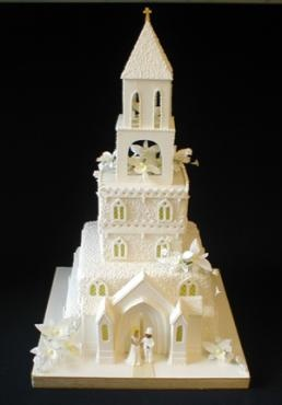 13 best Church Wedding Cake images on Pinterest | Cake ...