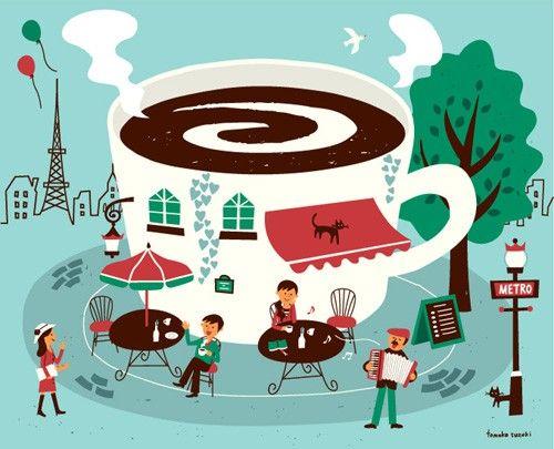 Illustration Today:http://illustrator2013.blogspot.fr/ 網站充滿各種插畫風格作品