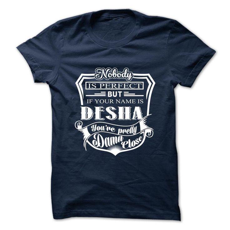[Hot tshirt names] DESHA Top Shirt design Hoodies, Funny Tee Shirts