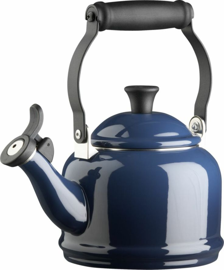 Le Creuset® Ink Teakettle in Teakettles | Crate and Barrel