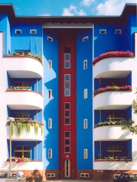 Bruno Taut, colourful Berlin