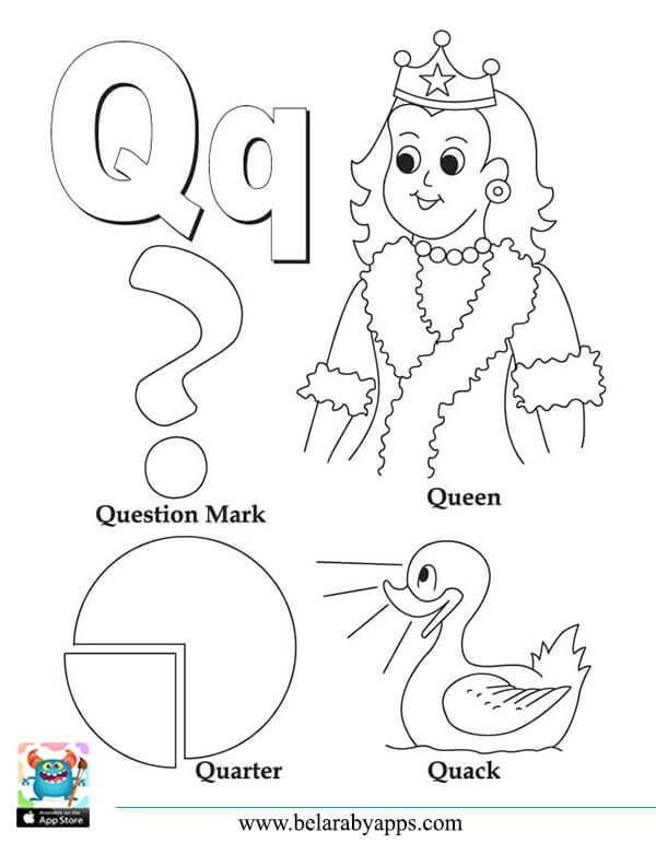 رسومات الحروف الانجليزية كبتل وسمول للتلوين مع الكلمات بطاقات للطباعة بالعربي نتعلم Alphabet Coloring Pages Alphabet Coloring Color Worksheets