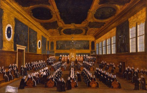 """""""Il Consiglio dei Pregadi"""", 1779?-1792 #gabrielbella #querinistampalia"""