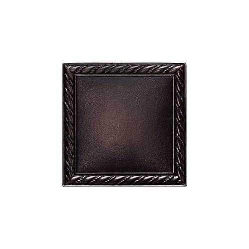 Daltile Ion Metals Oil Rubbed Bronze Rope Accent 2 X 2