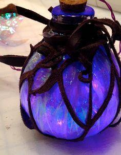 Fire Pixie Fashion: LED Fairy Lights - Steampunk Costume Accessory and Fairy Room Decor