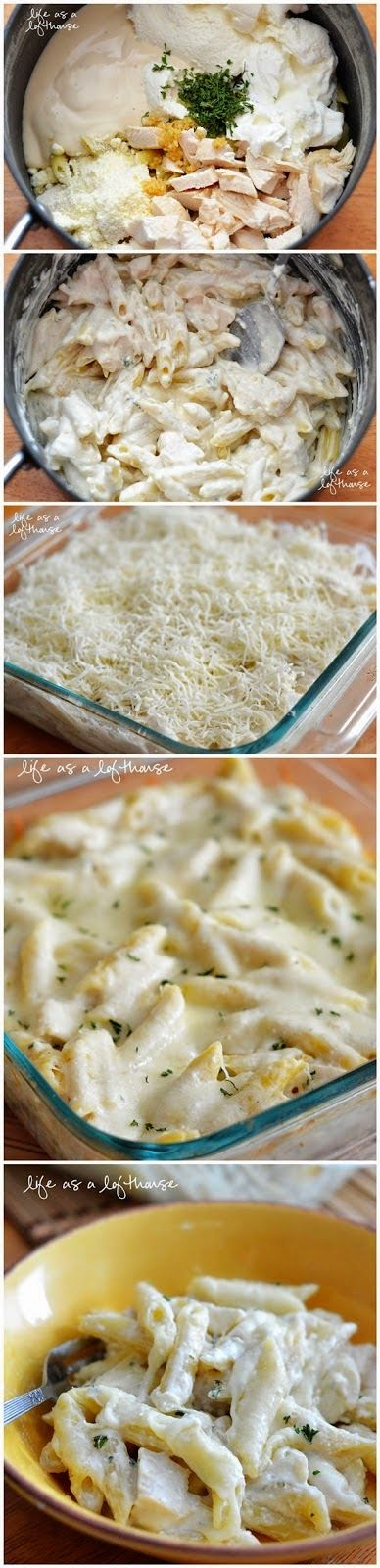 Penne pasta, Cheese and Noodles on Pinterest