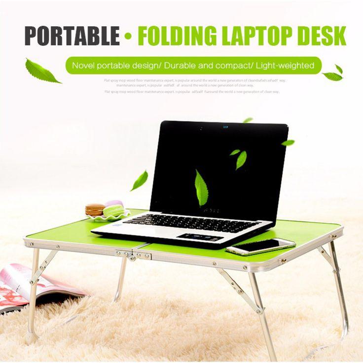 portable ordinateur bureau de pique nique camping table pliante bureau d 39 ordinateur portable. Black Bedroom Furniture Sets. Home Design Ideas