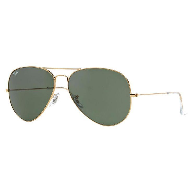 ray ban sonnenbrille aviator xl uv400 golden