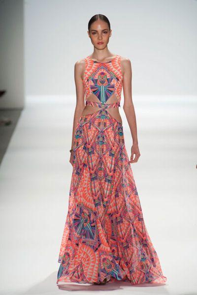 Robes de rêve : défilé Mara Hoffman : Place au rêve avec les plus belles robes desdéfilés printemps-été 2014