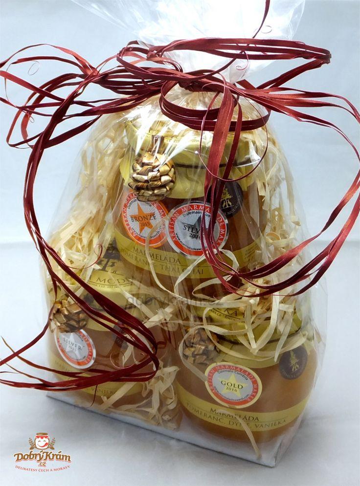 Dárkové balíčky se světově oceněnými marmeládami - Farmička Modřínka