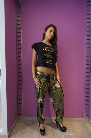 La Bella Donna - Γυναικεια Μπλουζα Κρεπ-Σταμπα
