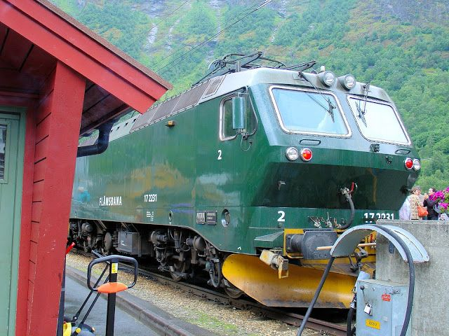 All Aboard the Flåm Railway - one-way service from Myrdal to Flåm! @visitnorwayusa @Adam M Sterrett Norway #VisitNorwayUSA