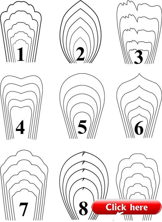All 9 Templates Paper Flower Templates Giant Paper Flower Template 1 9 Paper Ideas Paper Flower Patterns Giant Paper Flowers Template Paper Flowers Diy