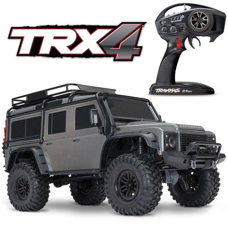NEW Traxxas TRX4 4x4 Rock Crawler Scaler Truck Land Rover