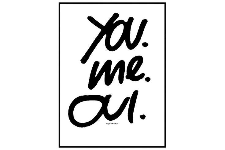 You Me Oui 30x40 cm - | Kodin1.com