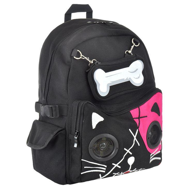 Banned Cat Bone backpack, speaker bags, Banned bags, womens backpack UK