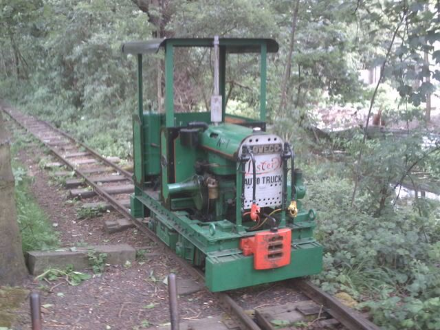 Lister locomotive with cab