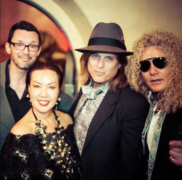 Sue Wong, Chris Pitman (Guns N Roses) & Steve