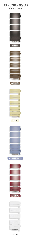Radiateurs électriques couleurs: les radiateurs électriques Thermor se déclinent en 6 couleurs traditionnelles pour la salle de bain