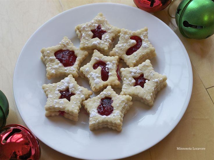 Shortbread Linzer with Cranberry Filling | this heart of mine