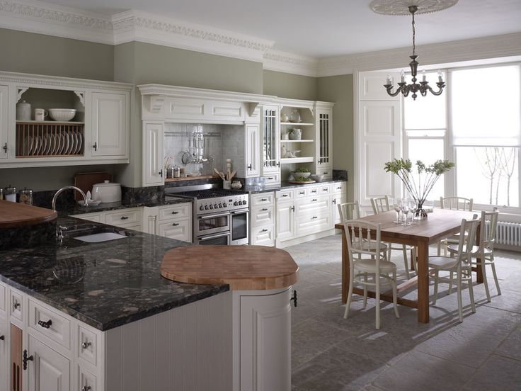 Large luxurious kitchen