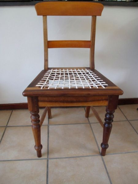 rare stinkwood riempies chairs eight slightly negotiable