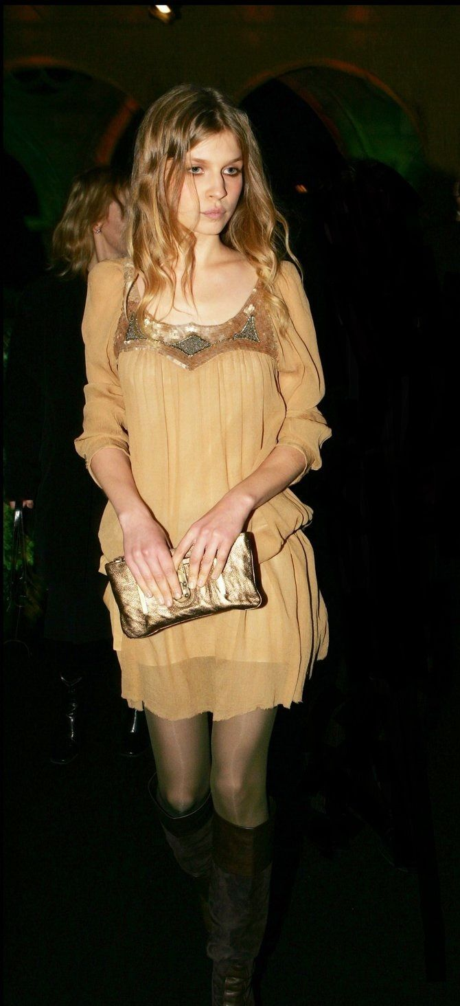 Clemence Poesy Goblet of Fire French Premiere