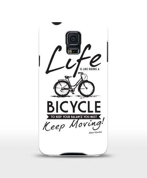 Life is Like A Bicycle Iphone 44S55S66 Galaxy by store365 on Etsy