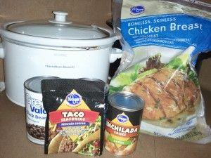 Super easy!: Black Beans Chicken Burritos, Chicken Dinners, Beans Burritos, Recipes Call, Chicken Burritos Recipes, Chicken Black, Black Bean Chicken, Cafe Rio, Chicken Burrito Recipes