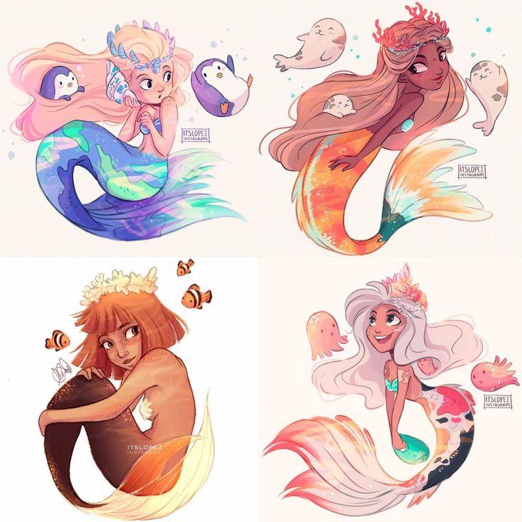 Pin by Isabel Fink on art | Mermaid drawings, Mermaid art ...