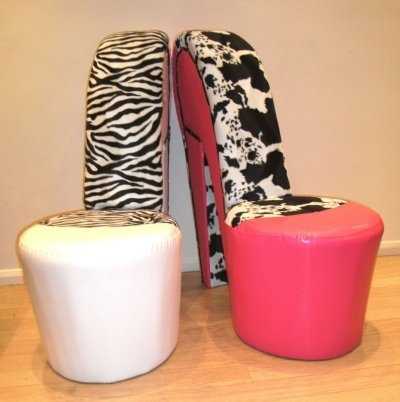 High Heel Shoe Chairs .. Love These For Girlu0027s Room!