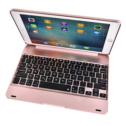 ABS plastic alloy Metel Ultrathin Keyboard Dock Cover Case Stand Holder For Apple iPad 6 ipad Air 2 9.7 inch keyboard case