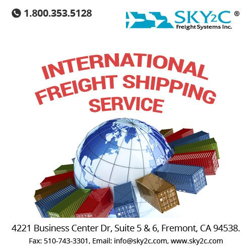 With optimum reliability and the fastest shipping time, ‪#‎International‬ ‪#‎Air‬‪#‎Freight‬ by Sky2c is the premium choice for transporting your commercial goods and cargo. At Sky2c, we offer international cargo delivery via air at the most affordable and budget friendly rates.