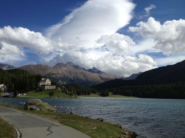 Lake, St.Moritz, Switzerland