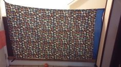 Sew and Spoon: Creating a Fabric Baby Gate for a Large Opening