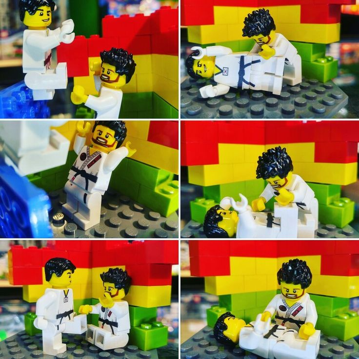 BJJ Lego Custom minifigure