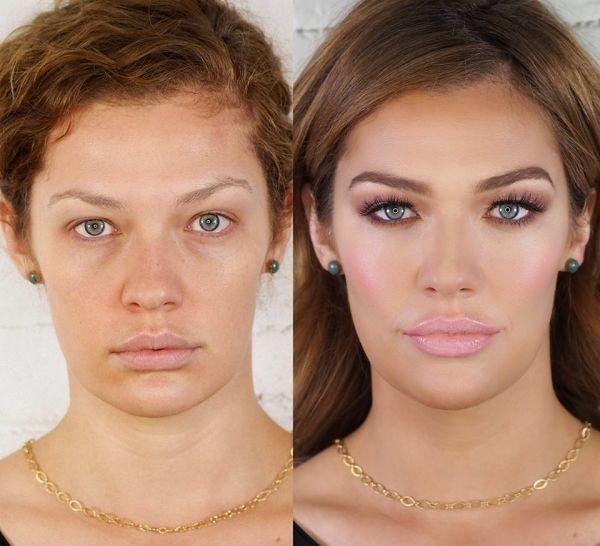 Fabuleux Les 25 meilleures idées de la catégorie Maquillage avant après sur  KU32