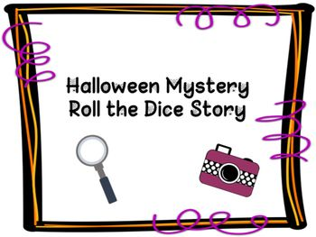 Do your students sometimes struggle to get started when beginning a new writing piece?Look no further!  This product combine mystery writing, graphic organizers for story planning, and dice rolling to create the outline for their writing.Students love the wacky combinations of crimes, alibis, settings, victims, and criminals.Includes:Teacher instructionsDice rolling recording sheetMultiple options selection shetGraphic organizer for story planning