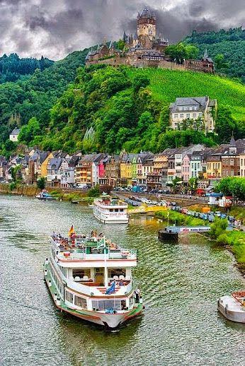 Rhine river cruise -- Germany