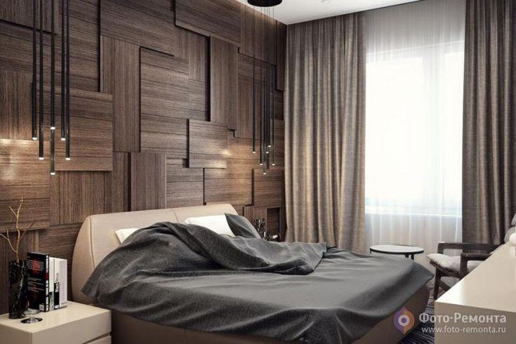Современная спальня в квартире, Москва