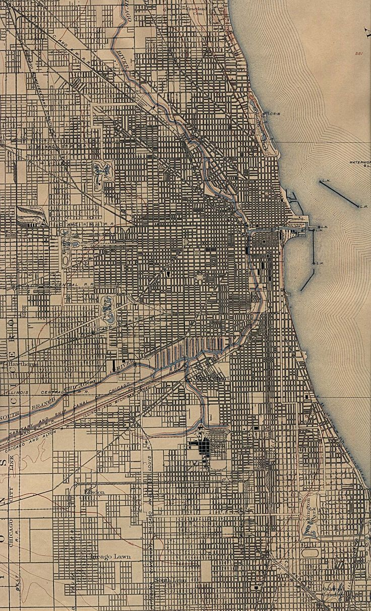 Best Chicago Map Ideas On Pinterest - Chicago in us map