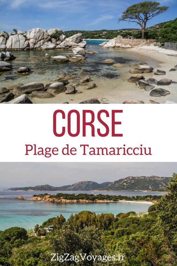 Plage De Tamaricciu Corse Photos Conseils Pratiques Paysage Corse Paysages Magnifiques Beau Paysage